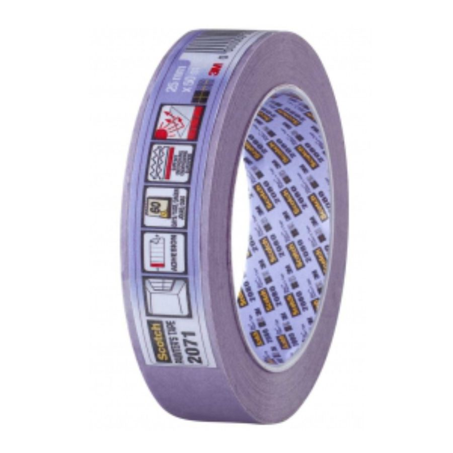 Scotch Masking Tape 2071 Purple
